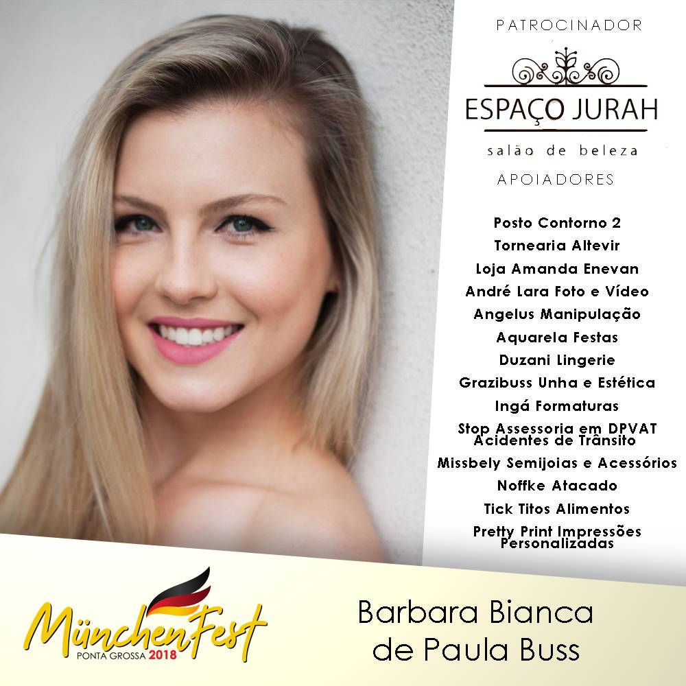 BARBARA BIANCA DE PAULA BUSS